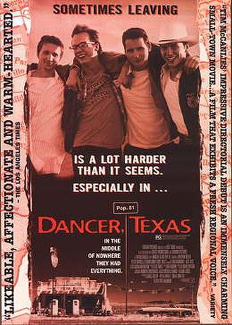 Dancer, Texas Pop. 81 - Promotional poster