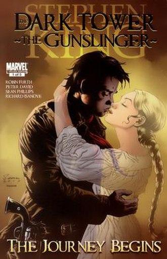 The Dark Tower: The Gunslinger - The Journey Begins - Image: Dark Tower The Gunslinger The Journey Begins Vol 1 1 Cover Art