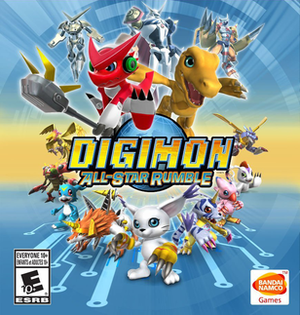 Digimon All-Star Rumble - Image: Digimon All Star Rumble boxart