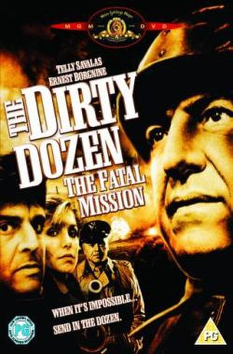 The Dirty Dozen: The Fatal Mission - UK DVD cover