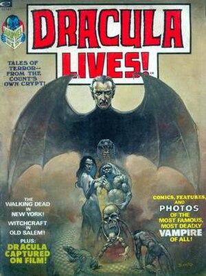 Dracula Lives! - Image: Dracula Lives 1