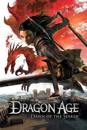 Dragon Age: Dawn of the Seeker - Image: Dragon Age Dawn of the Seeker cover