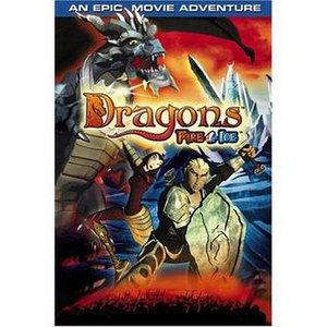 Dragons: Fire and Ice - DVD cover