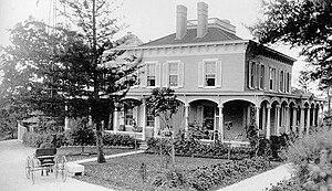 Oglebay Park - The Mansion before Earl W. Oglebay made major renovations to the original farmhouse.
