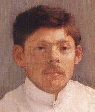 Ede Kallós - Portrait painted by Karoly Ferenczy (c. 1896), in the Museum of Fine Arts, Budapest.