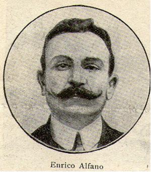 Enrico Alfano - Camorra boss Enrico Alfano at the Cuocolo trial in Viterbo in 1911