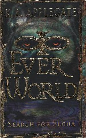 Everworld - The cover of the first book in the series, Search for Senna.