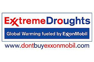 Subvertising - The ExxonMobil logo as subverted by Greenpeace.