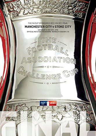 2011 FA Cup Final - The match programme cover.