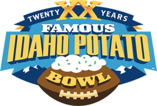 2016 Famous Idaho Potato Bowl annual NCAA football game