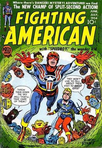 Fighting American - Image: Fighting American 2