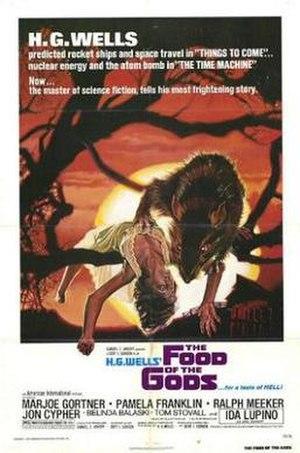 The Food of the Gods (film) - Film poster by Drew Struzan