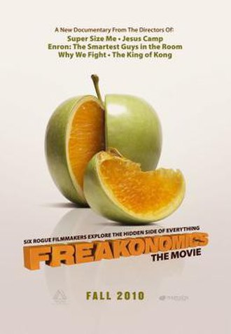 Freakonomics (film) - Theatrical poster