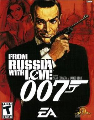 James Bond 007: From Russia with Love - Image: From Russia with Love game cover