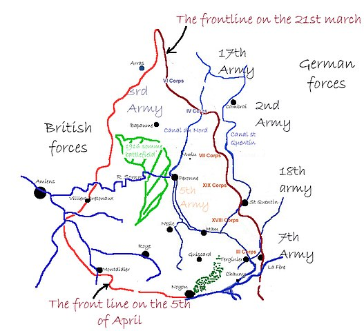 The Spring Offensive 1918 527px-Frontline_21031918_copy