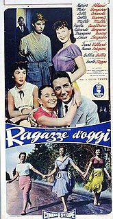 <i>Girls of Today</i> 1955 Italian film directed by Luigi Zampa
