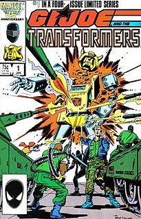 <i>G.I. Joe and the Transformers</i> 1987 comic series
