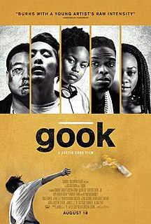 <i>Gook</i> (film) 2017 film directed by Justin Chon