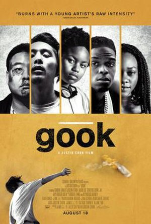 Gook (film) - Theatrical release poster