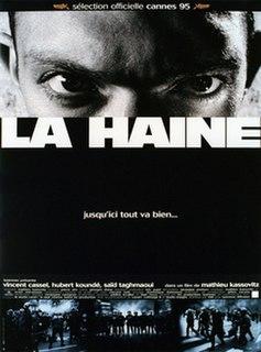 <i>La Haine</i> 1995 film directed by Mathieu Kassovitz