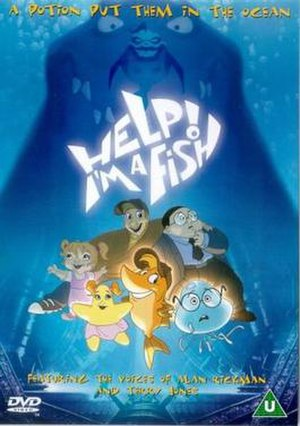 Help! I'm a Fish - United Kingdom cover art