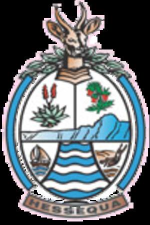 Hessequa Local Municipality - Image: Hessequa Co A