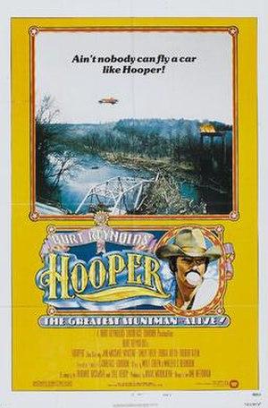 Hooper (film) - Film poster