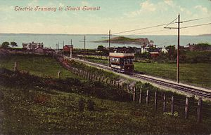 Hill of Howth Tramway - The Hill of Howth Tramway, 1907