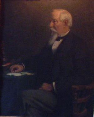 Hiram Walker - Hiram Walker, from a painting that hangs in Willistead Manor, Windsor, Ontario