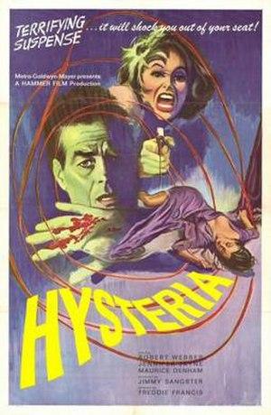 Hysteria (1965 film) - Film Poster