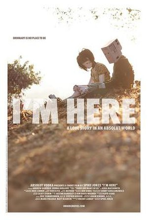 I'm Here (film) - Promotional poster