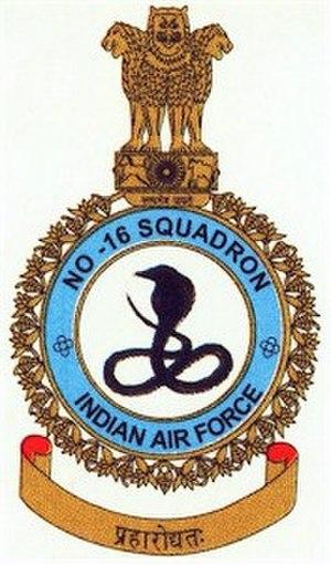 No. 16 Squadron IAF - Image: IAF 16 Squadron Crest
