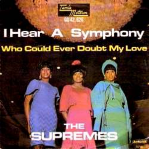 I Hear a Symphony - Image: I Hear A Symphony Single