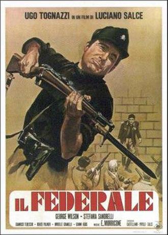 The Fascist - Italian film poster
