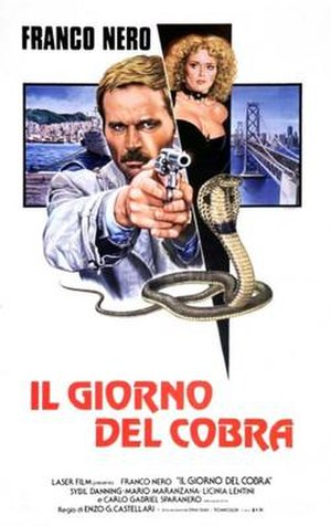 Day of the Cobra - Italian poster for Day of the Cobra