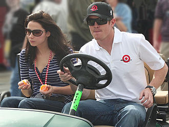 Scott Dixon - Scott Dixon and his wife, Emma