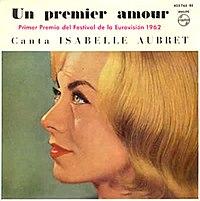Isabelle Aubret - Un ĉefranga amour.jpg