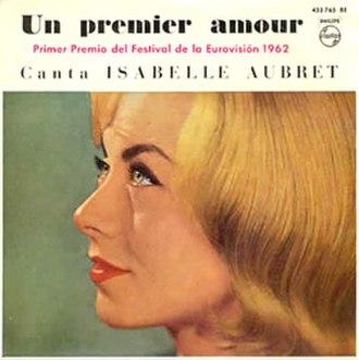 Un premier amour - Image: Isabelle Aubret Un premier amour