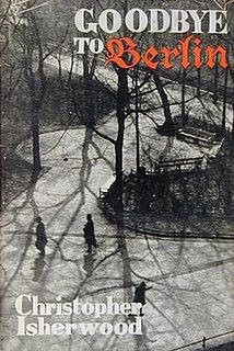 <i>Goodbye to Berlin</i> 1939 novel by Christopher Isherwood