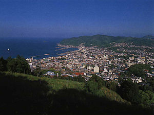 Itō, Shizuoka - Aerial View of Itō