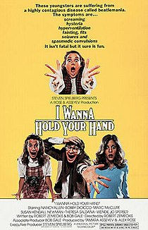 <i>I Wanna Hold Your Hand</i> (film) 1978 film by Robert Zemeckis