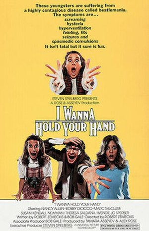 I Wanna Hold Your Hand (film) - Theatrical release poster