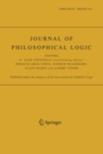 Journal of Philosophical Logic - Image: J Phil Log