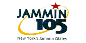 WWPR-FM - The Jammin 105 logo that lasted from 1998 through early 2002.