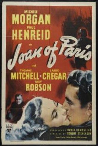 Joan of Paris - Image: Joan of paris poster