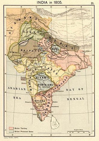 Greater Nepal - Image: Joppen 1907India 1805a