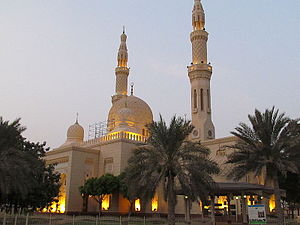 Jumeirah Mosque - An evening view of Jumeirah Mosque
