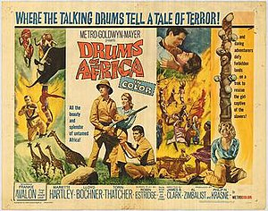 Drums of Africa - Original film poster
