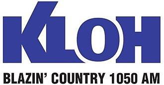 KLOH - Image: KLOH Blazin'Country 1050 logo