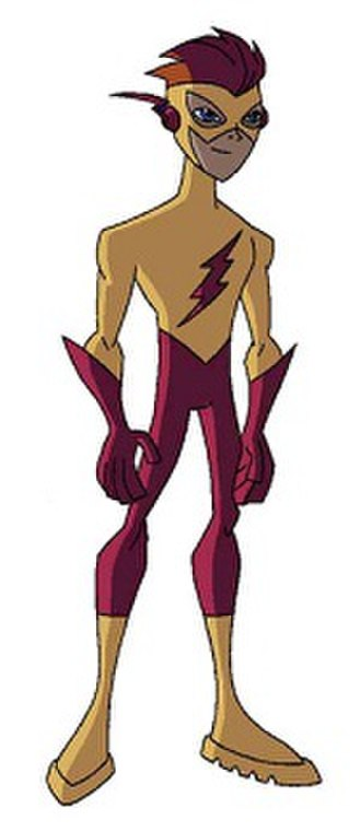 Flash in other media - Kid Flash as he appears in Teen Titans.